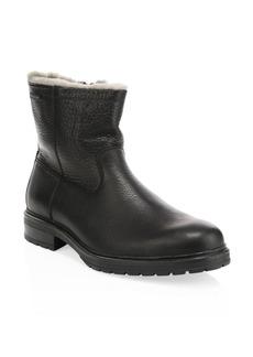 Mephisto Leonardo Leather & Shearling Boots