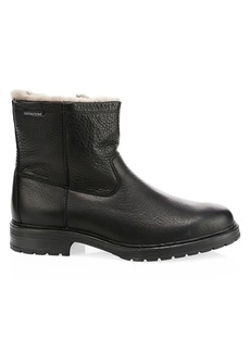 Mephisto Leonardo Leather & Shearling Boots