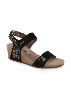 Mephisto 'Marie - Spark' Wedge Sandal (Women)
