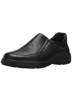 Mephisto Men's Davy Slip On Shoes Black Leather  M US