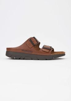 Mephisto Men's Zonder Sandals Tan Grain Leather 41 (US Men's 7)