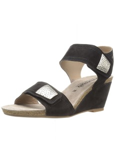 Mephisto Women's Jackie Wedge Sandal   M US