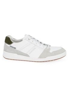 Mephisto Russel Leather & Suede Sneakers