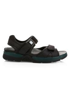 Mephisto Shark Leather Walking Sandals
