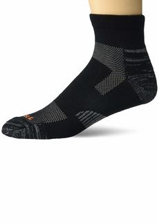 Men's Merrell Light Hiker Ankle Quarter Socks