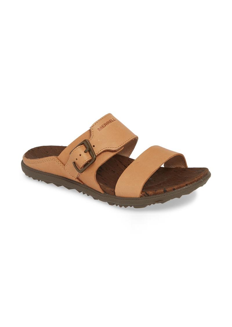 Merrell Around Town Luxe Buckle Slide Sandal (Women)