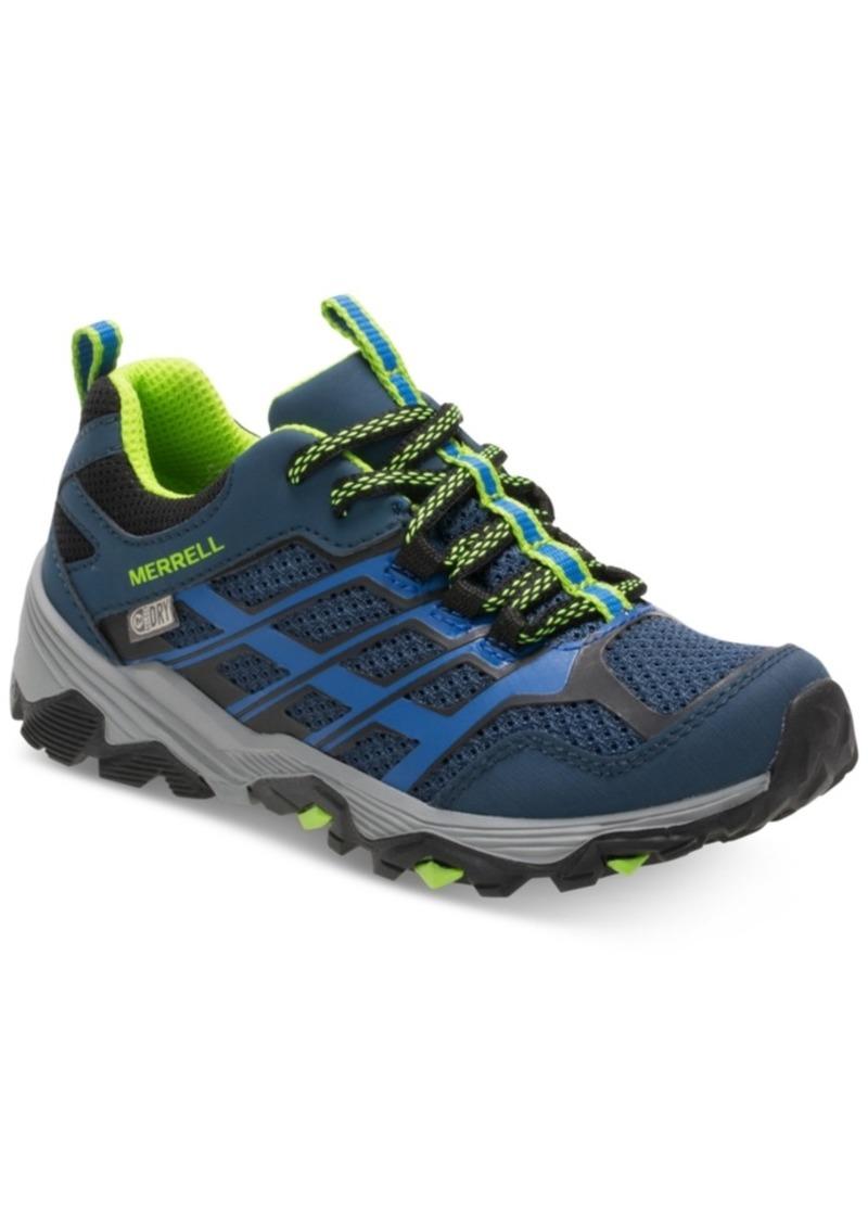 Merrell Toddler & Little Boys Moab Low Waterproof Sneakers