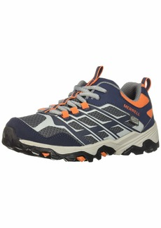 Merrell Boys' Moab FST Low WTRPF Hiking Shoe  60 M US Big Kid