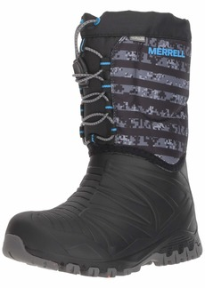 Merrell Boys' Snow Quest Lite WTRPF Boot  5 Medium US Big Kid