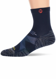 Merrell Men's 1 Pack Bare Access Mid Crew Socks  M/L