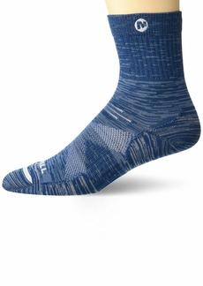 Merrell Men's Bare Access Mid Crew Socks 1 Pair  M/L