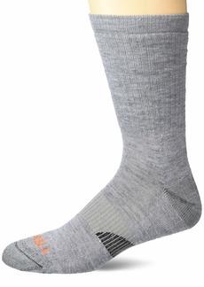 Merrell Men's Merino Wool Lightweight Hiker Crew Socks 1 Pair  S/M