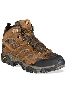 Merrell Men's Moab 2 Mid-Top Waterproof Hiker Men's Shoes
