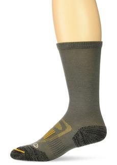 Merrell Men's Zoned Crew Light Hiker Sock  m/l