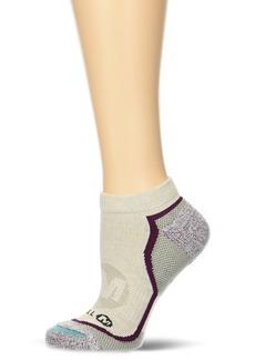 Merrell Women's 1 Pack Cushioned Trail Glove Hiking (Low/Quarter/Crew Cut Socks) Oatmeal)