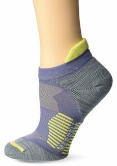 Merrell Women's 1 Pack Cushioned Ultra Light Running Tab Low Cut Socks