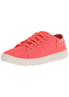 Merrell Women's Around Town City Lace Canvas Sneaker hot Coral  Medium US