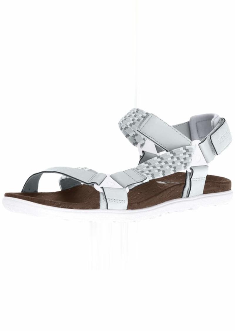 Merrell Women's Around Town Sunvue Woven Sandal high Rise  Medium US