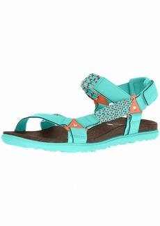 Merrell Women's Around Town Sunvue Woven Sandal   Medium US