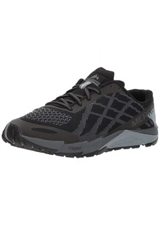 Merrell Women's Bare Access Flex E-Mesh Sneaker Black-W