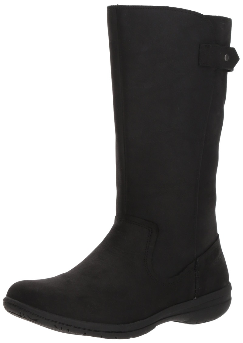 Merrell Women's Encore Kassie Tall Waterproof Fashion Boot black  M US