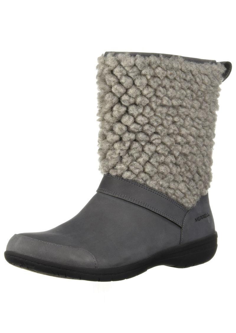 Merrell Women's Encore Kassie Tall Wool Fashion Boot   M US