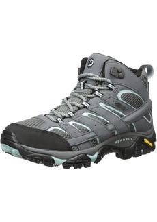 Merrell Women's Moab 2 Mid Gtx Hiking Boot   W US