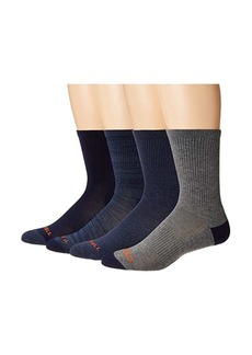Merrell Midweight Cushion Crew Socks 4-Pair