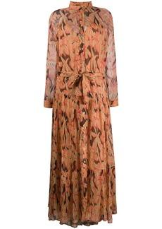 Mes Demoiselles Cerasi floral-print shirt dress