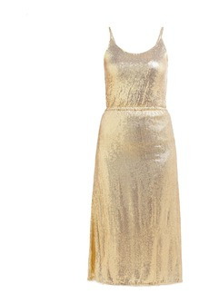 Mes Demoiselles Philo sequinned midi dress