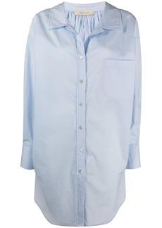 Mes Demoiselles oversized button-up shirt