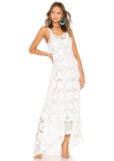 Mes Demoiselles Secret Crochet Maxi Dress