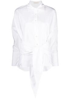 Mes Demoiselles tied-waist shirt