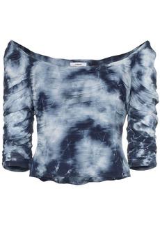 Miaou Madeline tie-dye crop top