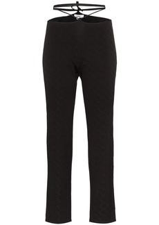 Miaou Rei strap detail trousers