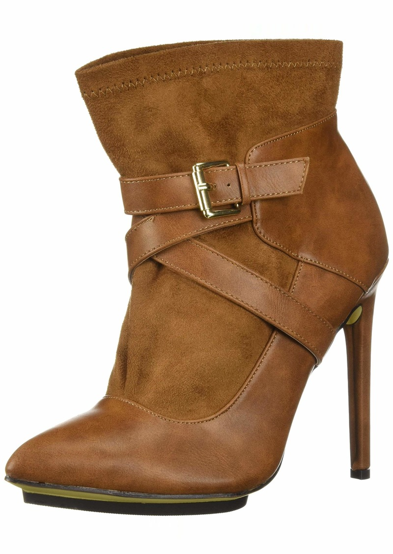 Michael Antonio Women's Agi Ankle Boot tan  M US