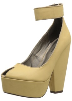 Michael Antonio Women's Aliza Open-Toe Pump