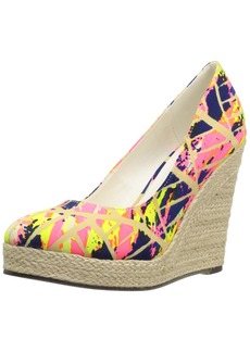 Michael Antonio Women's Anabel-PRT Wedge Pump   M US