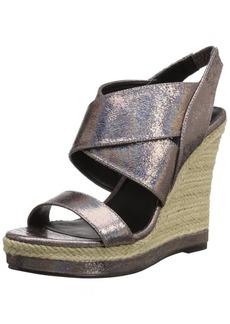 Michael Antonio Women's Gerey-Met Espadrille Wedge Sandal  11 M US