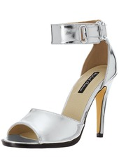 Michael Antonio Women's Hudsen-Met Heeled Sandal   M US