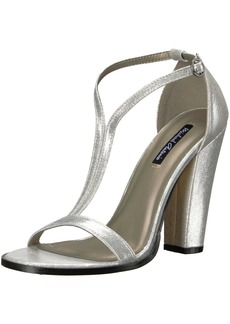 Michael Antonio Women's Jons-met Dress Sandal   M US