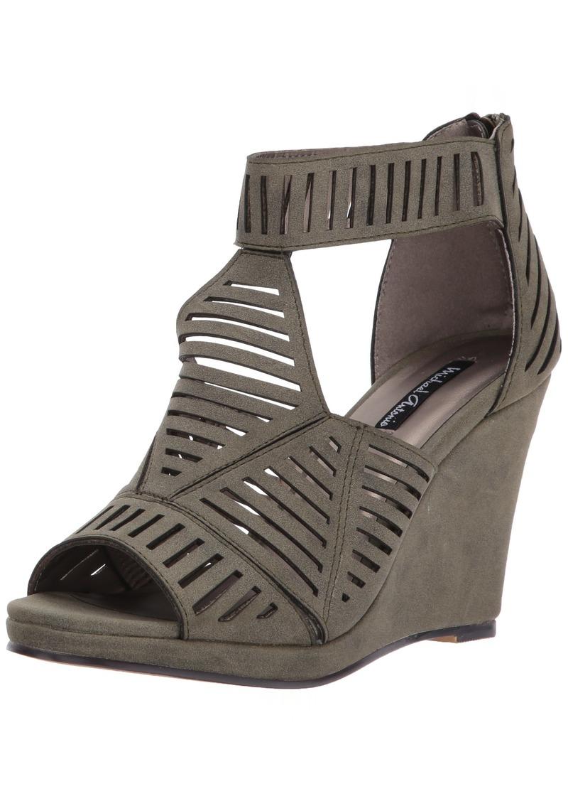 Michael Antonio Women's Kammi Wedge Sandal  10 W US