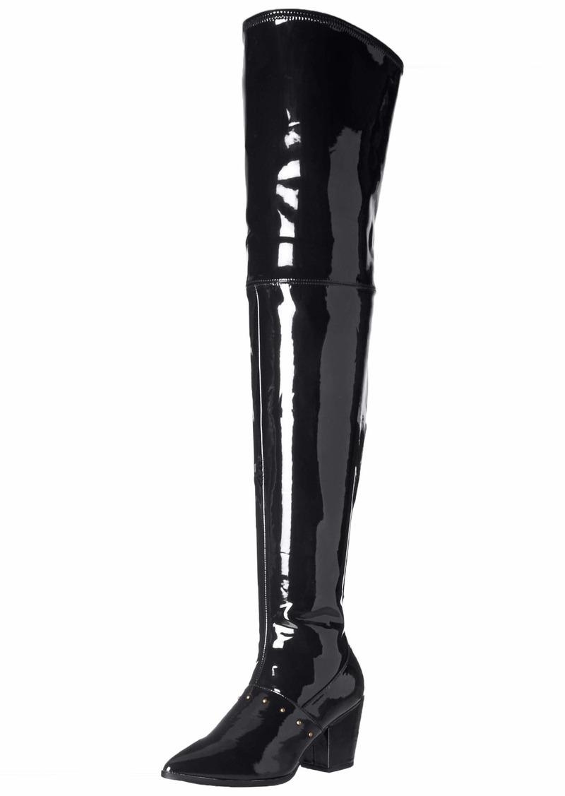 Michael Antonio Women's Laria-pat Knee High Boot   M US