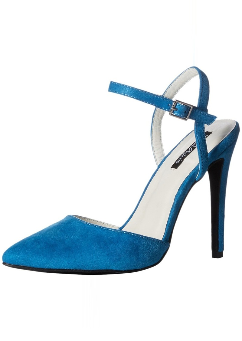 Michael Antonio Women's LIRIC-SUE Heeled Sandal blue  M US