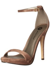 Michael Antonio Women's Lovina-sue Platform Sandal   M US