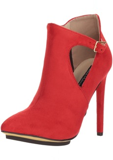 Michael Antonio Women's Luxx Fashion Boot red  M US