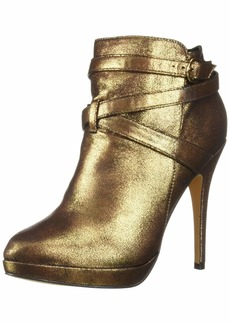 Michael Antonio Women's Peeps-met Ankle Boot