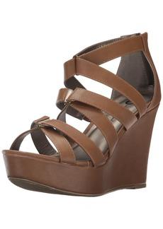 Michael Antonio Women's Rett Wedge Sandal  6.5 W US