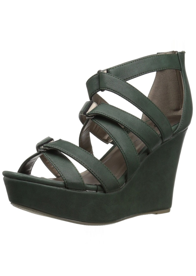 Michael Antonio Women's Rett Wedge Sandal  9 W US