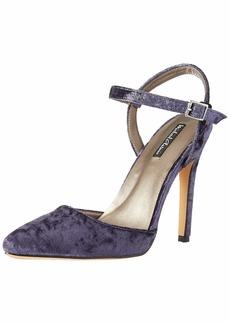 Michael Antonio Women's Riley-vel Heeled Sandal navy  M US